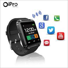 Hohe Qualität U80 Bluetooth 4,0 Smartwatch MTK Armbanduhr Schrittzähler Gesunde Smart Uhr U80 für iPhone LG Samsung Android Phone //Price: $US $10.89 & FREE Shipping //     #clknetwork