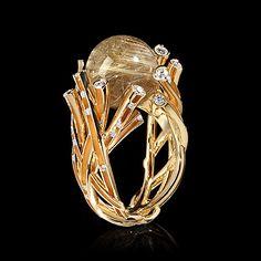 Кольцо Wind - купить в Mousson Atelier