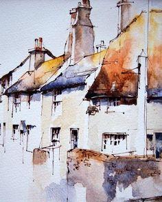 Bosham, West Sussex #watercolorarts