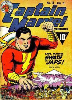 Captain marvel swats japs