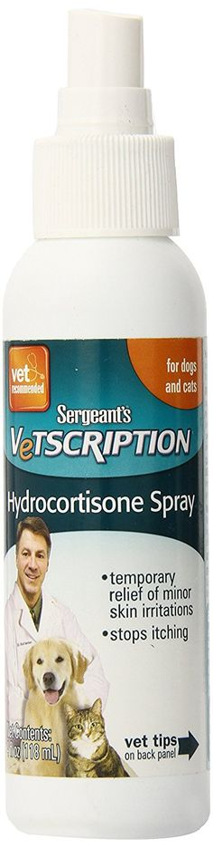 Sergeant's Vetscription 4-Ounce Hydrocortisone Spray Dog and Cat * Hurry! Check out this great product : Dog Health Supplies