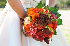 Stunning #autumn flower bouquet #wedding
