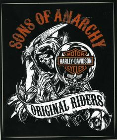 SOA SONS OF ANARCHY HARLEY DAVIDSON GRIM REAPER STICKER DECAL RARE 4 x 4 3/4