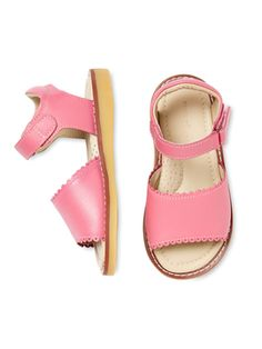 Classic Scallop Sandal from Spring Preview: Busy Bees on Gilt