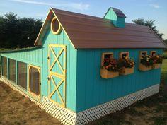 beautiful chicken coop