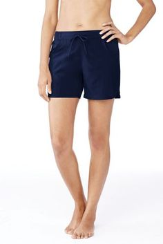 "Women's AquaSport 5"" Board Shorts from Lands' End"