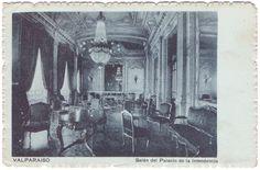 Postal del Salón de la Intendencia (Plaza Sotomayor)
