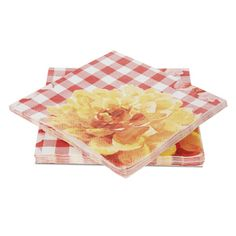 Gingham Paper Napkin
