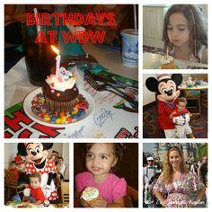Cool Ideas to Celebrate A Birthday At Disneyworld