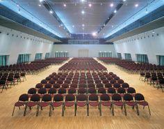 Multipurpose community #seating @ Milan Fair Conferences Pav. 17, Italy.