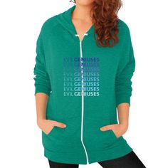 The Variant Zip Hoodie (on woman) Shirt