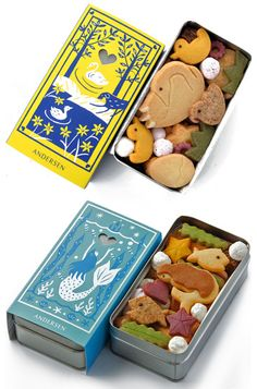 ANDERSEN / Package design of bakery cookies (website on Japanese)