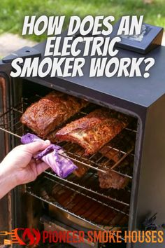 Why are electric smokers so popular? The answer is simple; they create less mess, smoke, and fuss. They also take less time and cause less hassle. Some feel that an electric smoker doesn't have the character, capacity, or effect that charcoal and propane smokers have, but that is because the whole smoking process is more clinical when you use an electric smoker. Best Bbq Smokers, Barbecue Smoker, Propane Smokers, Smoke Bbq, Smoking, Charcoal, Pork, Electric, Popular