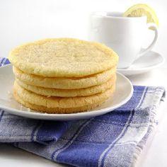 One Perfect Bite: Giant Lemon Sugar Cookies