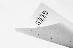 Retail Logo, Branding & Packaging – Loot by Savvy, Mexico Minimal Graphic Design, Graphic Design Inspiration, Stationery Design, Brochure Design, Id Design, Print Design, Brand Identity Design, Branding Design, Logo Branding