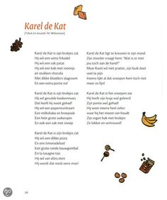 Karel de kat - Versje Drawing For Kids, Poems, School, Art, Craft Art, Poetry, A Poem, Kunst, Gcse Art