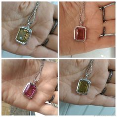 Купить Кулон Геометрия султанита на серебряной цепочке. Кулон в России в интернет магазине на Ярмарке Мастеров