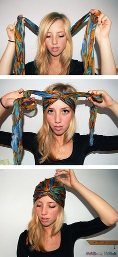 diy turban. my life is complete.
