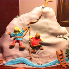 Mountain cake - for a friends birthday Mountain Cake, Homemade Cakes, 30th Birthday, Friends, Desserts, 30 Year Anniversary, Amigos, Tailgate Desserts, Deserts