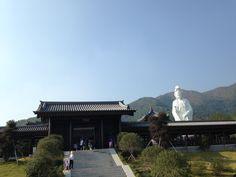 Main entrance of Tsz Shan Monastery