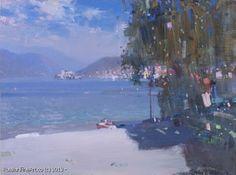 """Bato Dugarzhapov """"First Line"""" - oil, canvas, cardboard"""