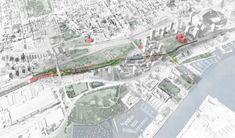 """Galeria de """"Under Gardiner"""": projeto de recuperação de espaços sob uma rodovia em Toronto - 1"""