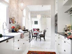 Interiors - kitchen from Sweden.