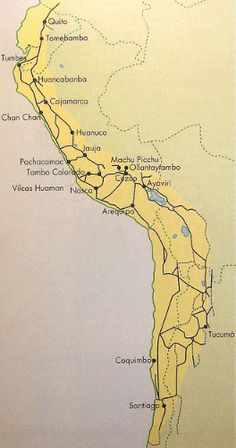 Inca road network