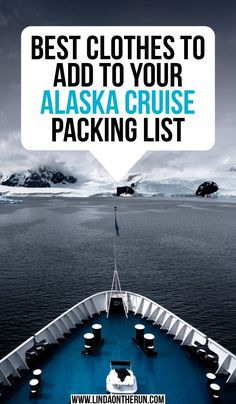 The Perfect Alaska Cruise Packing List For Any Time Of Year - Linda On The Run cruise travel travel cove travel teton national smoky mountains vacation national park Packing For Alaska, Packing List For Cruise, Alaska Travel, Cruise Travel, Cruise Vacation, Travel Usa, Travel Tips, Packing Lists, Alaska Cruise Tips