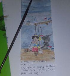Fresco fresco! #pinocchio #Disney #segnalibro #cartoon #art #disegno #disegnare #paint