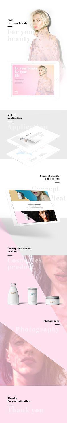 Beauty App on Behance