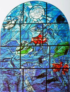 Marc Chagall ~ Le vetrate