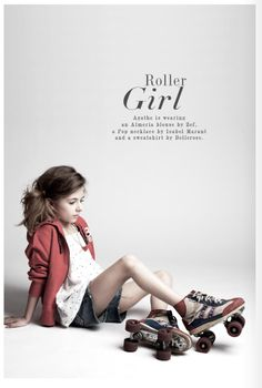 roller girl. smallable.