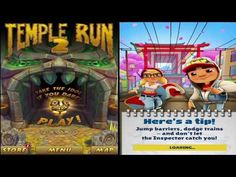 Free Top 99 Online Best Video Games for Kids of 2017 | Mobile Video Games: Temple Run 2 vs Subway Surfers Android Gameplay Fu...