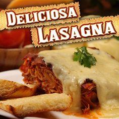 Deliciosa Lasagna a la Bolognesa, lo mejor del queso y la pasta