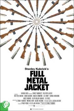 FULL METAL JACKET.  Poster designed by Jidé.