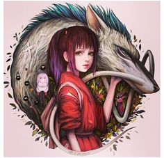 Spirited Away - possible tattoo inspiration                                                                                                                                                                                 More
