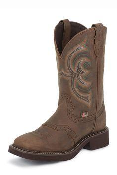 Justin Gypsy Women's Aged Bark Western Cowgirl Boots