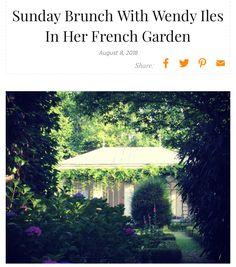 "This week on our Journal a sneak peek at ""Sunday Brunch With Wendy Iles In Her French Garden"", where she hosted 16 Danish Iles Formula clients and the Scandanavian Iles Formula Distributor Christian Mikkelsen of One Black Car.  https://ilesformula.com/sunday-brunch-with-wendy-iles-in-her-french-garden/  @rebekkarossen @claushansen95 @zsazsazsusalon  @aplusintercoiffure @louisafogel @frisorstuen @oneblackcar  @lasse_brogaard @jannetrillingsgaard @frisortuen @enostudiodk @ddartofhair"
