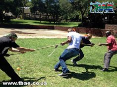 Exxaro Hitting the Target Team Building Witbank Mpumalanga