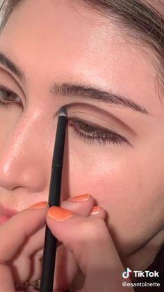Dope Makeup, Retro Makeup, Grunge Makeup, Eye Makeup Art, Kiss Makeup, Smoky Eye Makeup Tutorial, Makeup Looks Tutorial, Creative Makeup Looks, Aesthetic Makeup