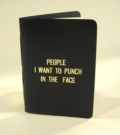 Rude Little Black Book. I so need this!