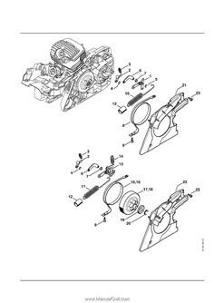 Stihl MS 271 Chainsaw (MS271) Parts Diagram, Ignition