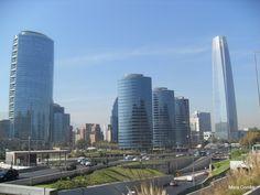 Las Condes é o bairro moderno de Santiago do Chile