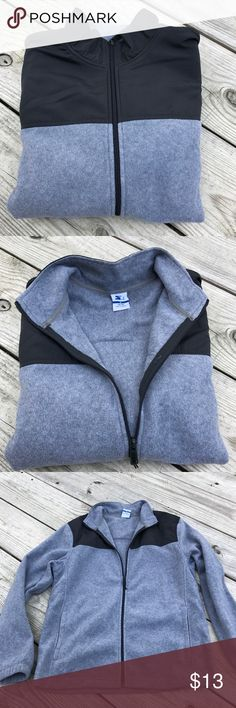 "Danskin Now woman's full zip fleece grey XL woman's pit 2  pit  21"" pit to hem 16"" . Heather grey with 2 front pockets Danskin Now Jackets & Coats Vests"