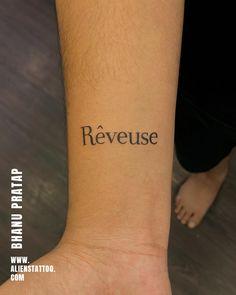 Small Script Tattoo by Bhanu Paratap at Aliens Tattoo Chest Tattoo Lettering, Calligraphy Tattoo, Script Tattoos, Tattoo Fonts, Hyper Realistic Tattoo, Minimal Tattoo Design, Shiva Tattoo, Alien Tattoo, Religious Tattoos