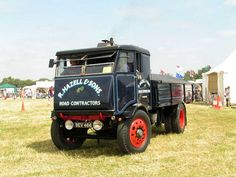 1934 Sentinel 6 Ton Steam Powered Lorry, built in Great Britian.