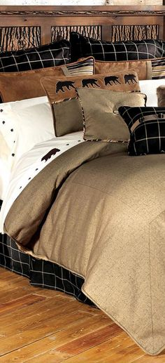 Ashbury Rustic Bedding #cabindecor
