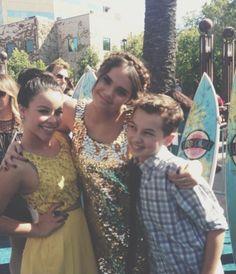 Teen Choice Awards 2013   Cierra, Maia and Hayden