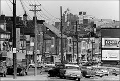 Portraits of a lost city: Saint John before urban renewal Saint John New Brunswick, New Brunswick Canada, Urban Renewal, Lost City, Photography Gallery, Main Street, Black And White Photography, New York Skyline, Portraits